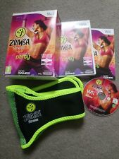 Nintendo Wii Zumba Fitness & Belt Join the party