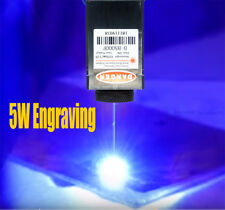 450nm 5W Focusable Blue Laser Module/TTL/Carving/Burning w/Gift Goggles