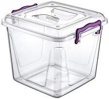 8.5 L plastique Pantry Case Transparent Nourriture Conteneur de stockage avec Pi...
