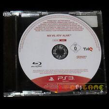 MX VS ATV ALIVE PS3 Versione Promo Europea gioco completo ••••• USATO