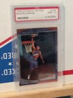 1999-00 Ultimate Victory #129 Shawn Marion RC Rookie Suns PSA Graded 9 Mint