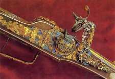 AK Radschloßbüchse mit vergoldeten Beschlägen Georg Gessler Dresden 1611 A_583