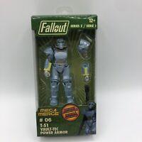 Fallout 4-Inch Mega Merge Action Figure Series 2 T-51 Vault-Tec Power Armor