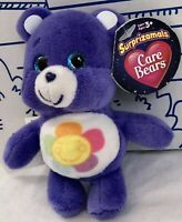 New Surprizamals Care Bears Plush Harmony Bear Purple Surprise Ball Toy Doll NWT