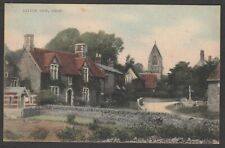 Postcard Little Tew near Chipping Norton Oxfordshire early village view