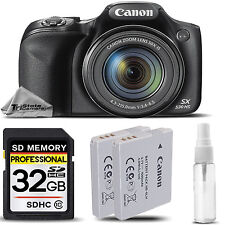 Canon PowerShot SX530 HS WiFi/NFC Digital Camera 16MP 50x Optical Zoom +32GB KIT