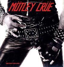 Motley Crue Too Fast for Love 2016 Reissue 180gm Clear/white Vinyl LP New/