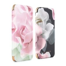 OFFICIAL TED BAKER AW16 Womens Floral Folio Case COLLECTION for iPhone 7/6S Rose