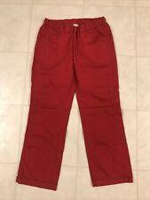 Dickies Red Women's Scrub Pants Sz Small Petite