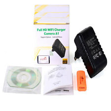 WIFI HD 1080P Wall Charger Adapter Hidden Camera Home Security Video Recorder