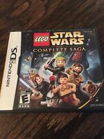 LEGO Star Wars: The Complete Saga (Nintendo DS, 2007) X1