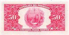 Paraguay  50  Pesos Fuertes  25.10.1923  P 166s  Specimen Uncirculated Banknote