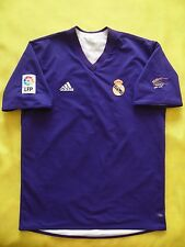 4.9/5 REAL MADRID CENTENARY JERSEY 2001/2002 ADIDAS FOOTBALL SHIRT SIZE M (L)