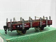 ETS Spur 0 Niederbordwagen mit Rungen CSD OVP (MR2589)