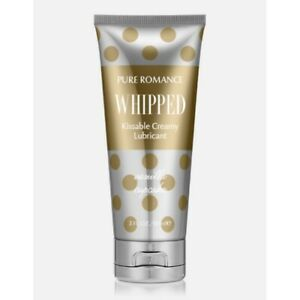 Pure Romance Whipped Kissable Creamy Lubricant Vanilla Cupcake New Sealed