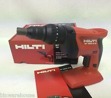 HILTI 18v ST 1800-A18 21.6v Cordless Adjustable Torque  Metal Screwdriver