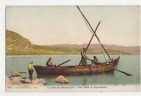 Palestine, The Lake of Gennesaret Postcard, B215