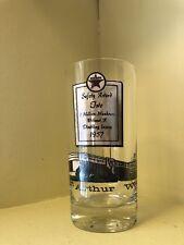 1957 Texaco Safety Award Glass Port Arthur Works