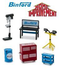 Binford Tools Tool Accessories Workshop Set 6 Pcs 1:64 Greenlight