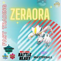 ULTRA SHINY ZERAORA 6IV Pokemon Sword & Shield Trading Now Fast Delivery
