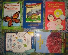 Harcourt Readers Leveled for Grades 2.5 - 3, Think & Respond Questions, 5 Books