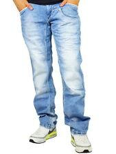 Stonewashed L32 Herren-Straight-Cut-Jeans mit niedriger Bundhöhe (en) Rusty Neal