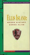 VHS: SCHOLASTIC ELLIS ISLAND WHERE HISTORY COMES ALIVE*