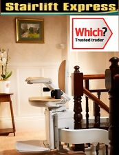 Brand new curved Brooks stairlift, installed + 12 month warranty!!!