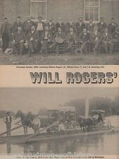 Will Rogers' Cherokee Nation+Benge,Boudinot,Buffington,Bushyhead,Claremore,Dew