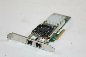 Dell W1GCR Broadcom 57810S Dual Port 10GbE BASE-T Full Profile Converged NIC