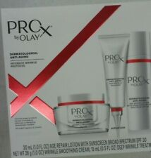 Olay Wrinkle Kit Includes Pro-X Lotion Anti-Aging Wrinkle Cream