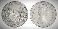 Canada 1989 Mackenzie River Bicentennial Proof UNC Silver Dollar!!