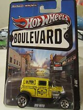 Hot Wheels Boulevard Real Riders Tires A-Ok Yellow