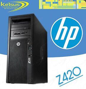 CHEAP HP Z420 Workstation Intel Xeon Quad Core E5-1603 2.8GHz 16GB 500GB Windows