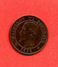 (BR.64) 2 CENTIMES NAPOLÉON III 1856 W (LILLE) SUP