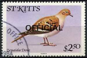 St. Kitts-Nevis 1981 SG#O20 $2.50 Birds Official Used #D86209