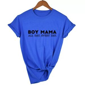 Boy Mama All Da yT-Shirt (top, matching, mom, mommy, mum, gift, Mother's Day)