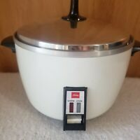 Vintage Toshiba Automatic Electric Steam Cooker Rice Model RC-4MH, 120V & 420W
