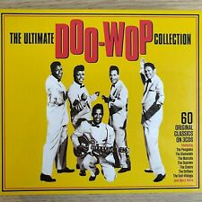 3CD NEW - ULTIMATE DOO-WOP - Pop Rock & Roll Doo Wop 50's Music 3x CD Album
