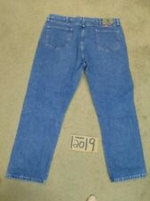 WRANGLER RELAXED 44X30 MEAS 42X30 BLUE BIG-TALL JEANS- #WG878