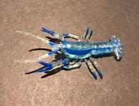 RARE Kaiyodo Yujin Takara Japanese Exclusive Mexican Dwarf Crayfish Figure Blue
