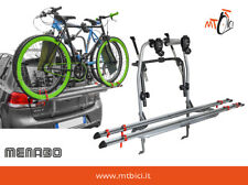 Portabici posteriore acciaio Menabo Logic 2 per 2 Bici Fiat, Ford, Bmw, Toyota