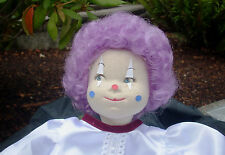 """Doll Wig - W802c Clown Color size 12""""(head): CHOICE of color."""