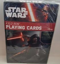 Star Wars Kylo Ren Playing Cards Poker Unique Art Work The Force Awakens New