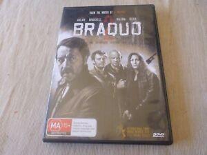 Braquo  : Season 2 (2x DVD, 2011) Region 4  Jean-Hugues Anglade, Joseph Malerba