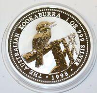 Australien 1 Dollar 1998 Kookaburra 1 oz Silber Unze Australia silver coin Unze