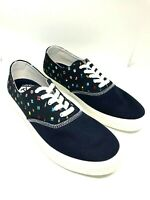 Sperry Top-Sider Men Captain's CVO Prep Flags Sneaker, Navy 11.5M Nautical Flags