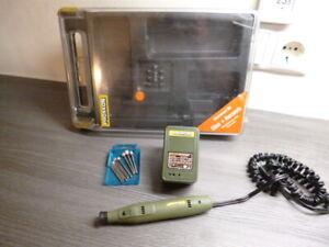 Proxxon GG12 Gravier-Set Graviergerät mit Box und Zubehör