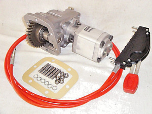 PTO UNIT, CABLE & GEAR PUMP KIT FITS IVECO DAILY - ZF 6S-300 GEARBOX - 11 L/M