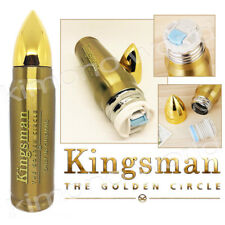 Kingsman II The Golden Movie Stainless Steel Bottle LIMITED Special Collection E